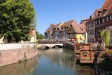 Colmar_179_06202018 - Flowers lining the canals and half-timbered homes following along were what really stood out about the Petite Venise part of Colmar