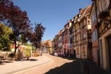 Colmar_181_06202018 - With today being a hot day, the cute half-timbered homes provided some much-needed shade while we were walking the Petite Venise part of Colmar