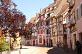 Colmar_213_06202018 - Walking back amongst the charming half-timbered buildings of Colmar in the Petite Venise area