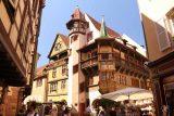 Colmar_233_06202018 - Looking towards one of the oldest buildings in Colmar