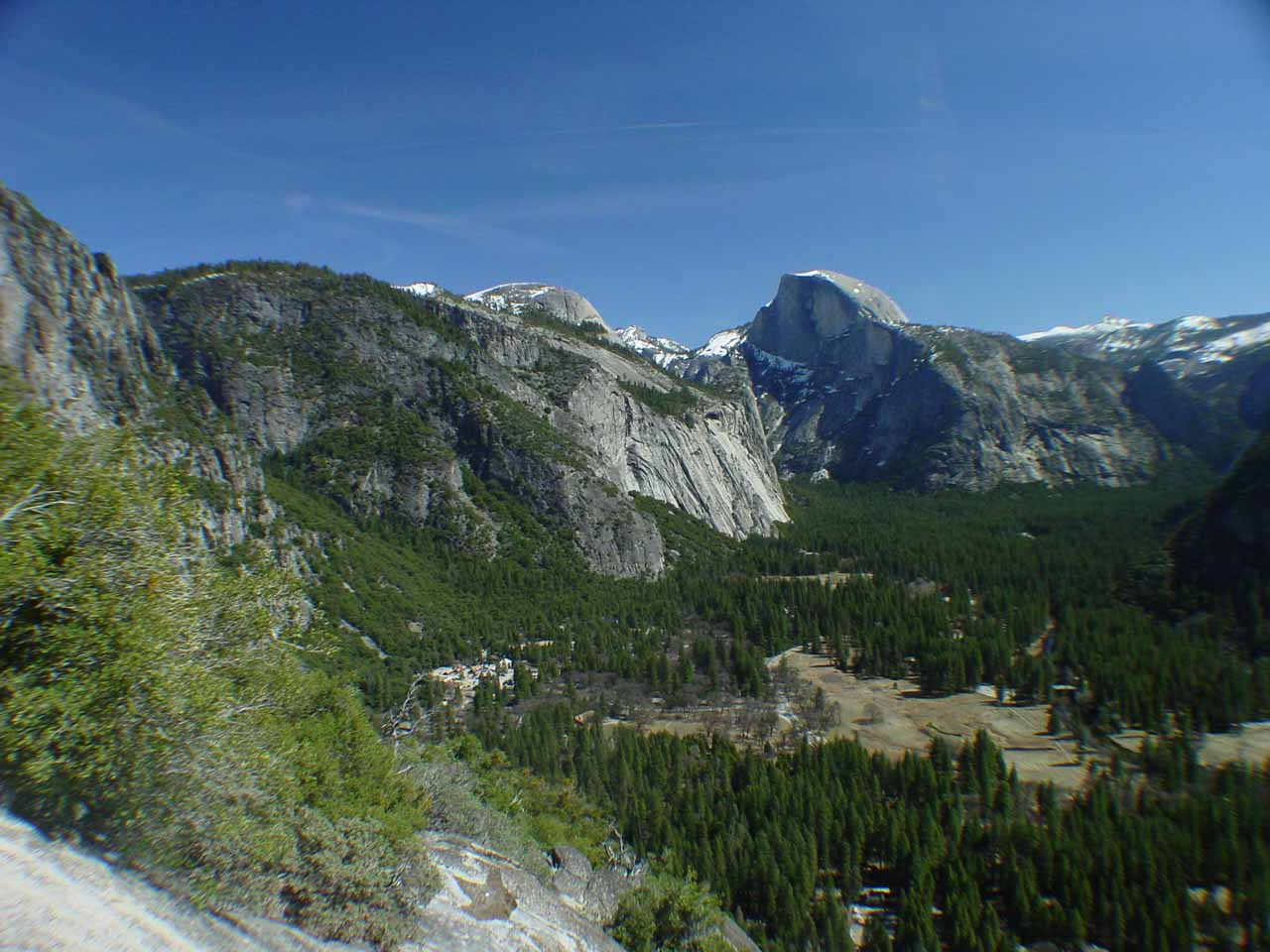 View of Yosemite Valley from Columbia Point