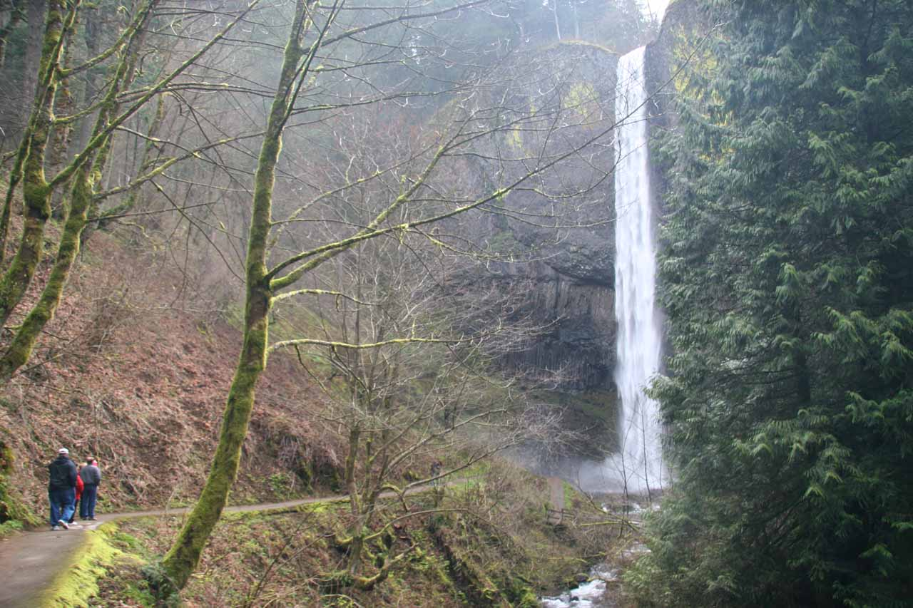 An Oregon Waterfall