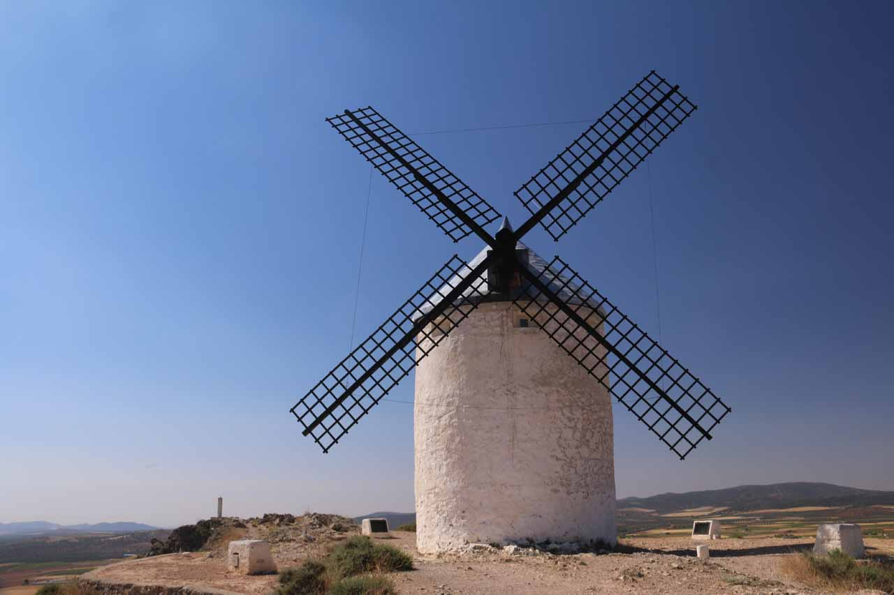 Classic Don Quijote country at Consuegra