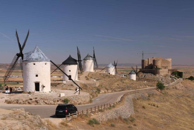 Instead of dropping the car off Cordoba and taking the train from there to Toledo via Madrid, we opted to continue our long term car hire and make the long drive to Toledo. In doing so, we stumbled into Consuegra and the iconic Don Quijote windmills demonstrating the discoveries that can be made by self-driving