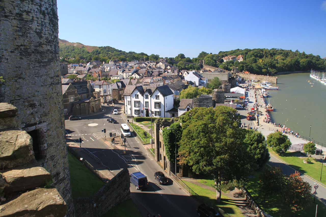 While we were touring North Wales, we based ourselves in the charming town of Conwy, which featured the UNESCO Conwy Castle as well as the city walls