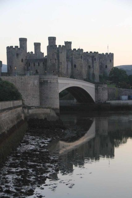 Conwy, North Wales was where we finally did something about our flat tire situation. Unfortunately, Conwy was a small town with limited garage services, and in hindsight, we should've taken the time to take care of the problem while in Glasgow, Scotland