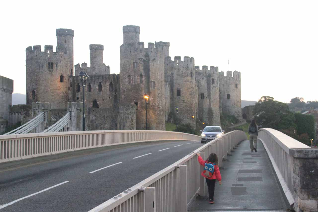 Conwy might have been over 90 minutes from Pistyll Rhaeadr, but we were very glad to have made this charming town the base of our North Wales explorations