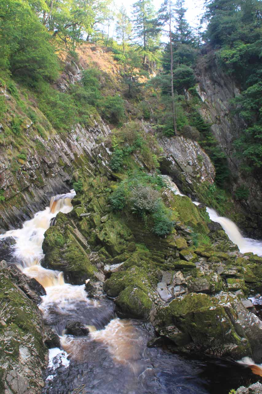 Late afternoon look at Conwy Falls
