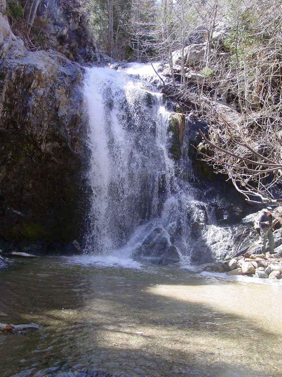Finally at the base of Cooper Canyon Falls