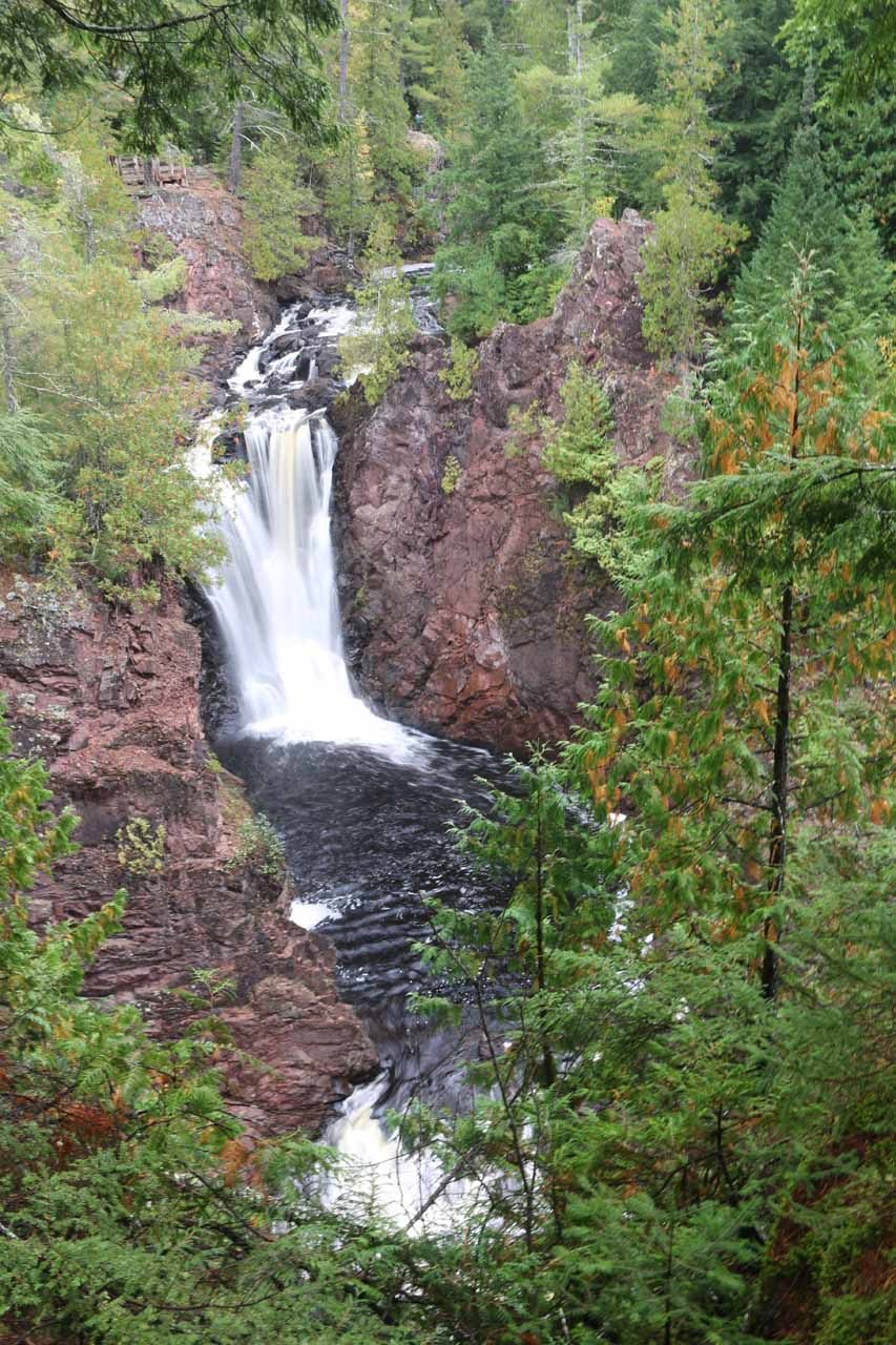 Here's a slightly different look at Brownstone Falls showing that there were even more smaller cascades further downstream