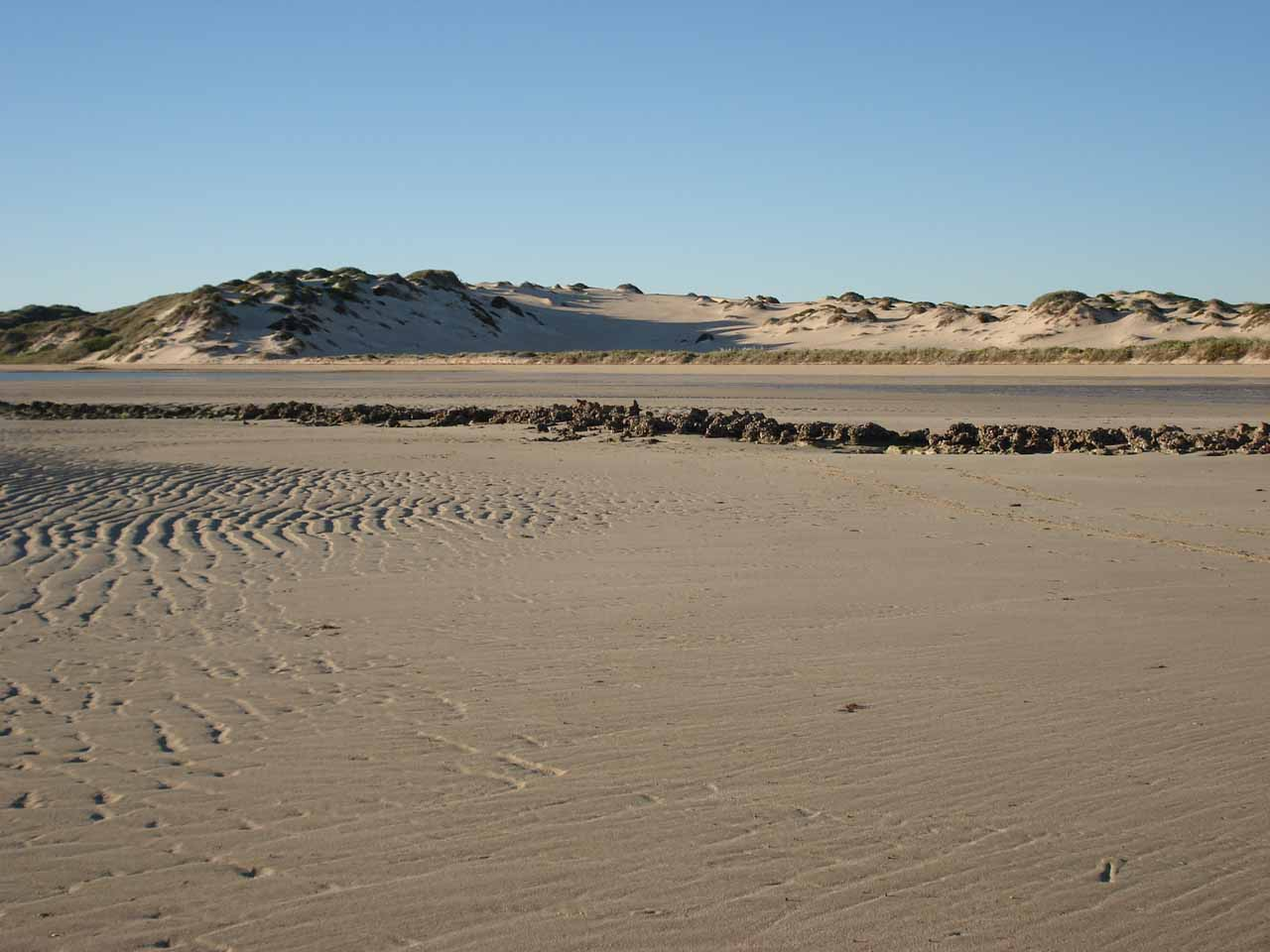 The dunes by Coral Bay