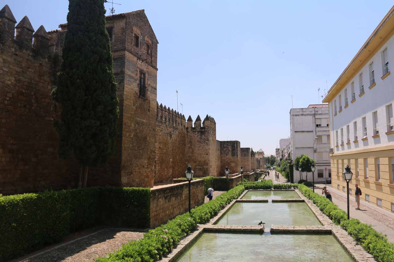 Looking further to the southeast from the Puerta de Almodovar