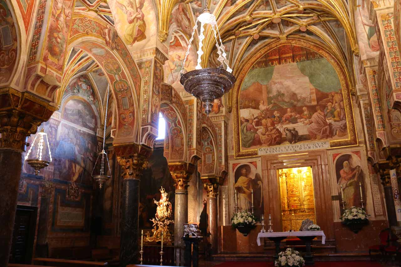 This room was particular ornate within la Mezquita