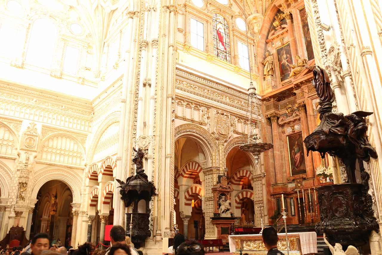Another look at a Catholicized part of la Mezquita