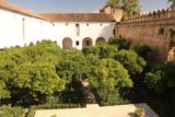 Cordoba_298_05312015 - Looking down at a courtyard at the Alcazar de los Reyes Cristianos