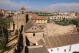 Cordoba_311_05312015 - Looking towards the rest of the Alcazar de los Reyes Cristianos from the tower