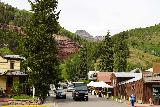 Cornet_Falls_001_07232020 - When I made my July 2020 visit to Cornet Falls, I actually didn't bother with parking and walked directly up North Aspen Street from the Victorian Inn. This photo and the next several are from this visit