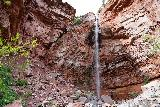 Cornet_Falls_022_07232020 - Cornet Falls with someone standing behind it
