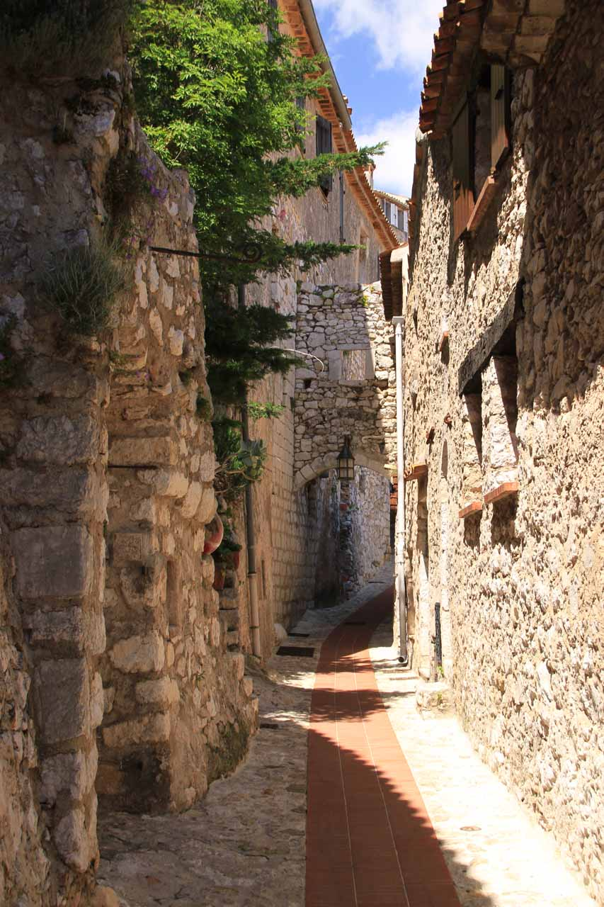 In addition to Nice, we also drove the winding roads in the Corniches to the east of the city and visited the charming town of Eze