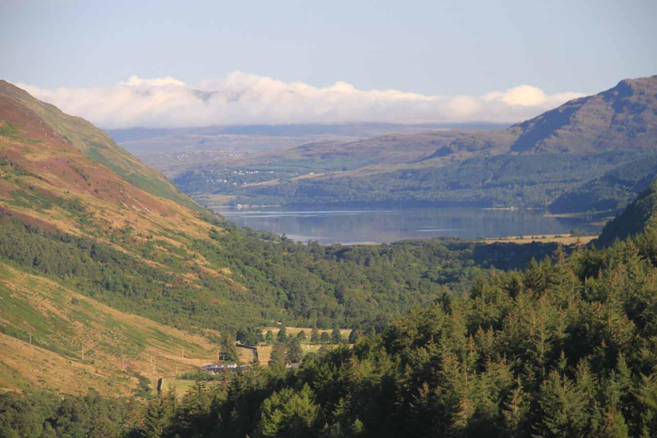 Finally, the view of Loch Broom
