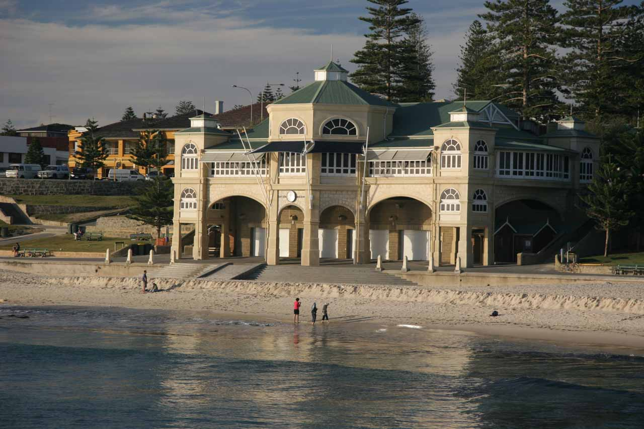The Indian Tea House at Cottesloe Beach