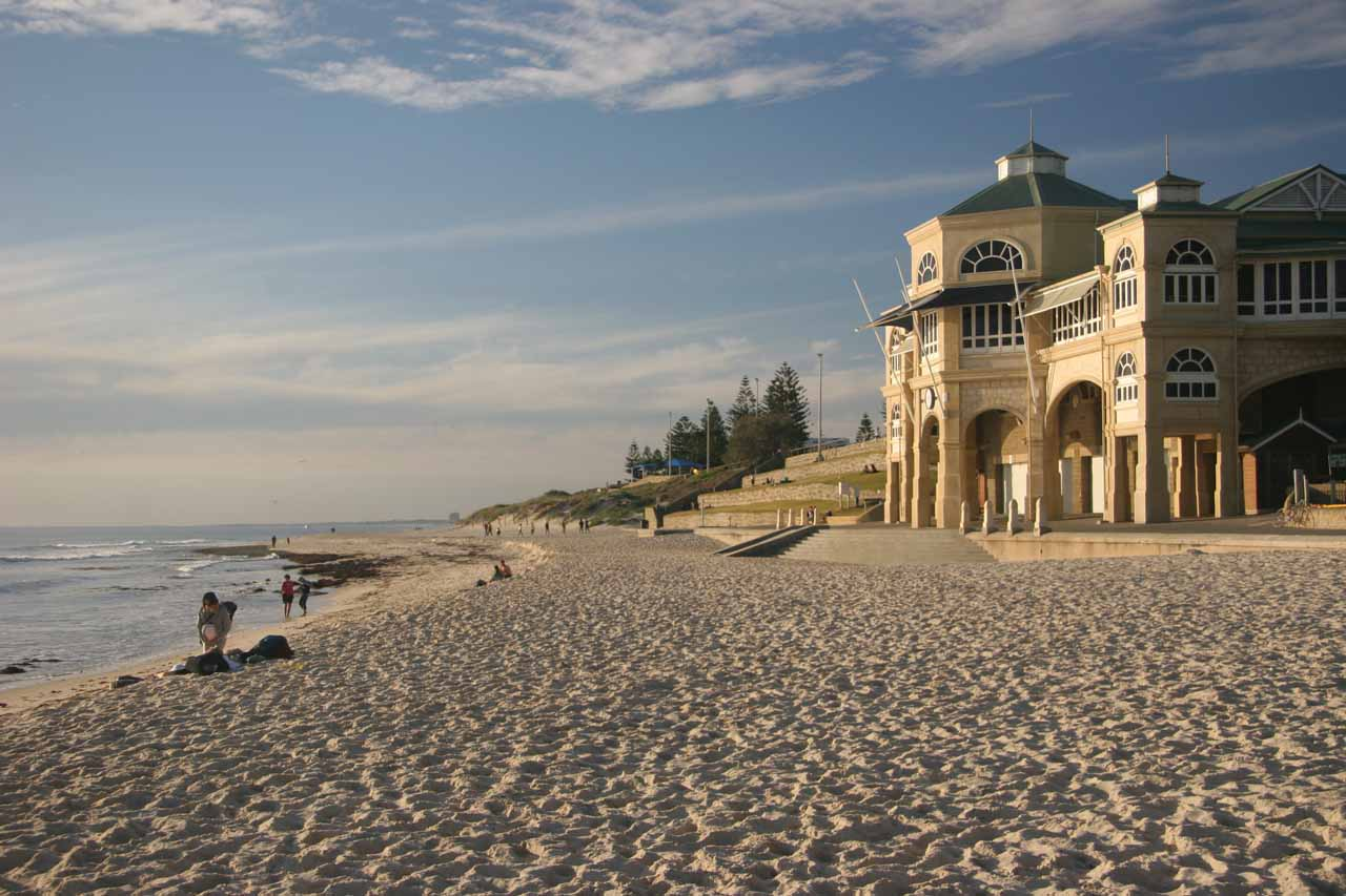 Also within the greater city of Perth was Cottesloe Beach, which was a relaxing yet beautiful spot fitting of a place to wind down our 2006 WA trip after looping through the Margaret River region