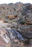 Cottonwood_Creek_Falls_077_01232016 - Finally making it up to the most impressive drop of the Cottonwood Creek Falls