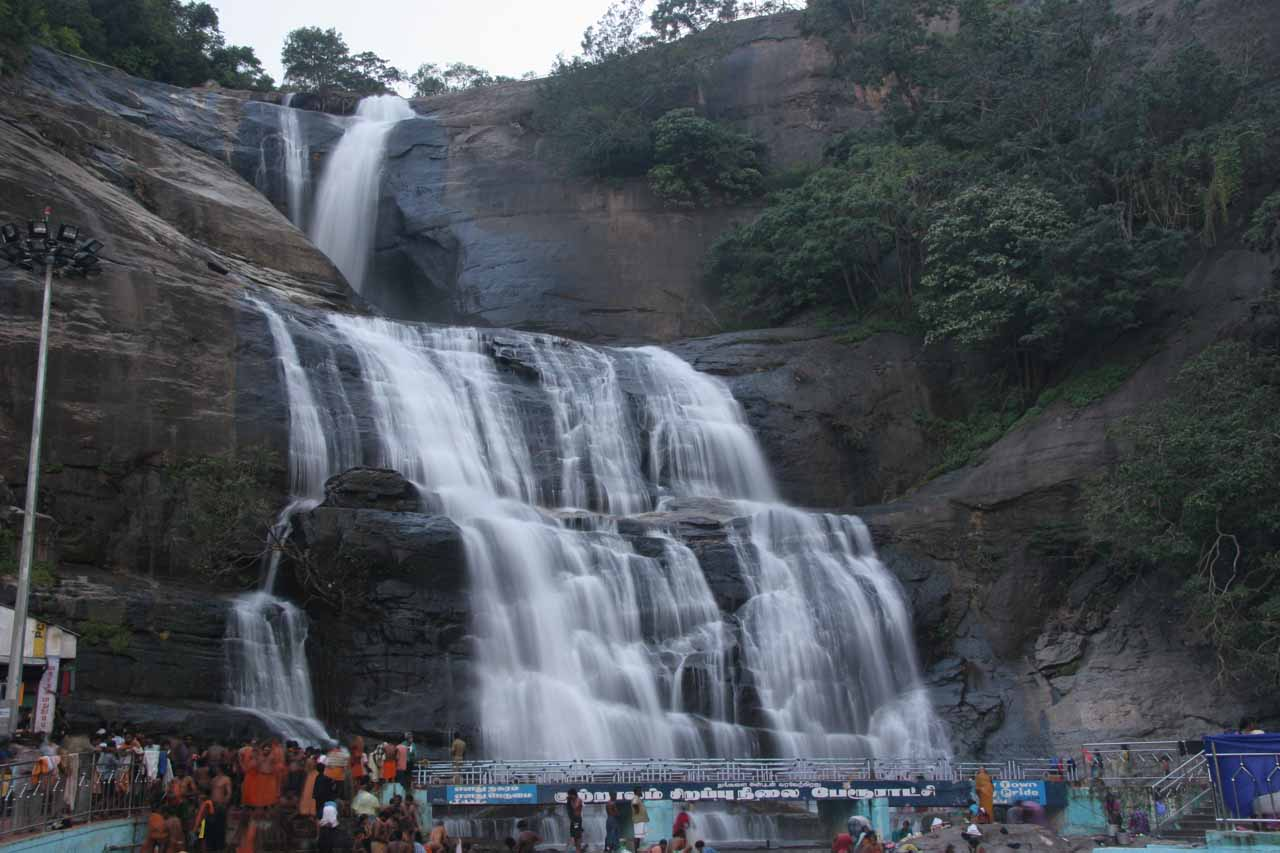 Courtallam Main Falls