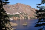 Crater_Lake_001_07152016 - Looking back towards the Phantom Ship from the East Rim of Crater Lake