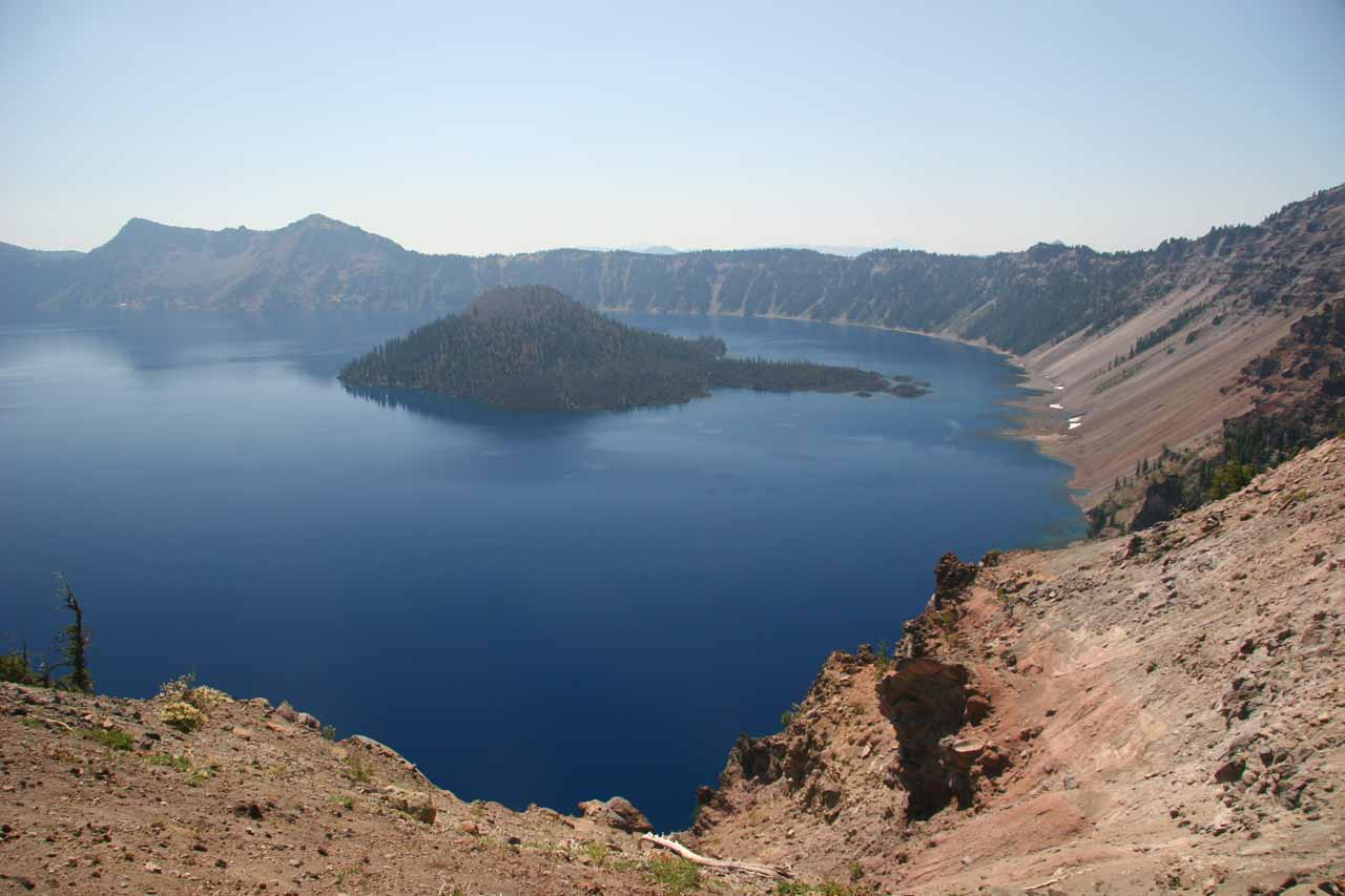 Crater Lake from Junction Overlook