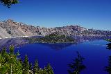 Crater_Lake_008_06282021 - Looking towards Wizard Island from the south rim of Crater Lake