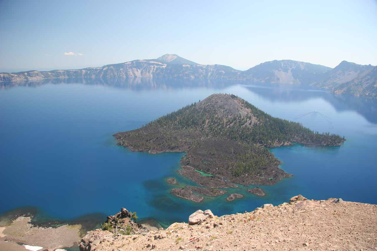 Crater Lake view from Watchman Overlook