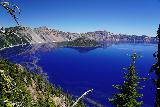 Crater_Lake_038_06282021 - More contextual look of Wizard Island and Crater Lake again after having had our fill of Sinnott's Overlook