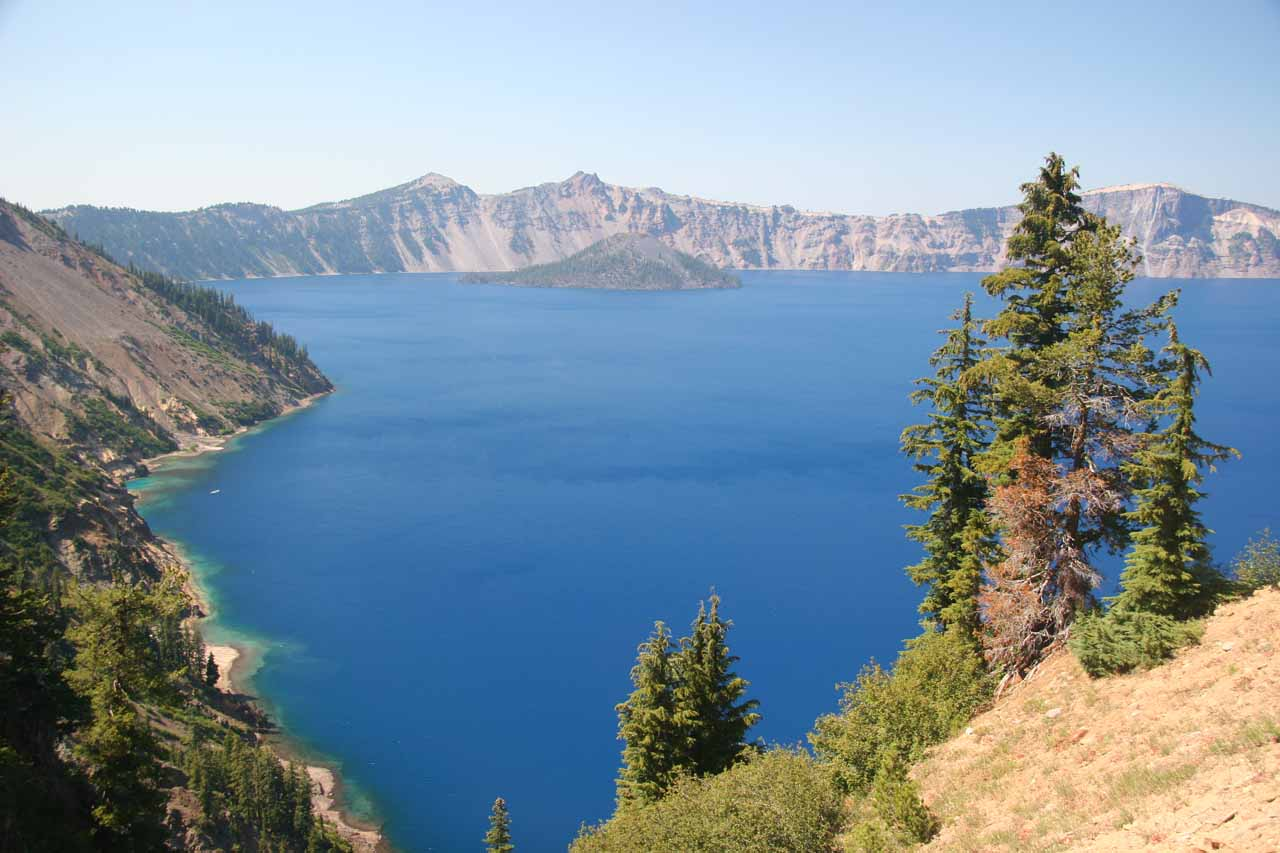 Crater Lake from near the Phantom Ship view