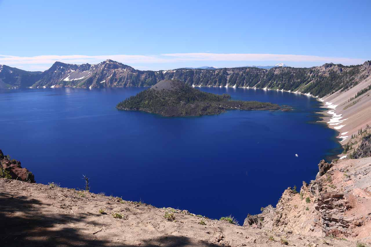 Crater Lake was perhaps the most famous example of volcanism in the Southern Cascades as a specific chain of events caused Mt Mazama to collapse and allow precipitation to fill in causing the lake
