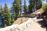 Crater_Lake_337_07152016 - Continuing to make our way down to the sheltered viewing area at the Southwest Rim of Crater Lake