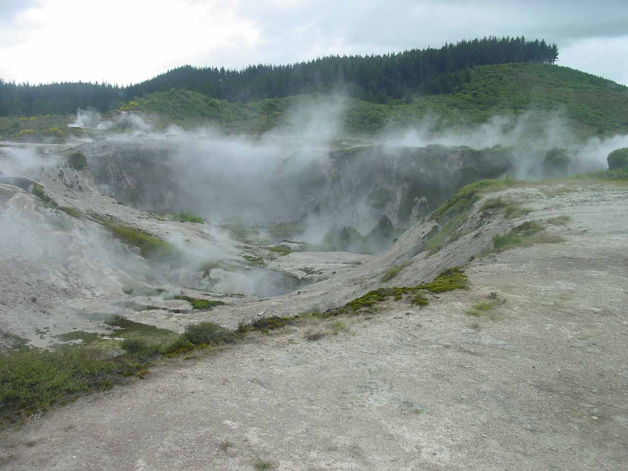 Another look at one of the craters of the Craters of the Moon