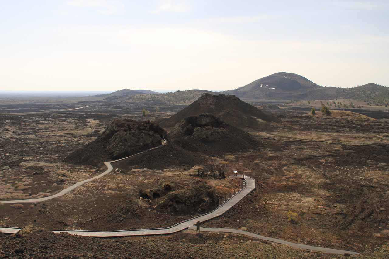 Splatter Cones at the Craters of the Moon National Monument