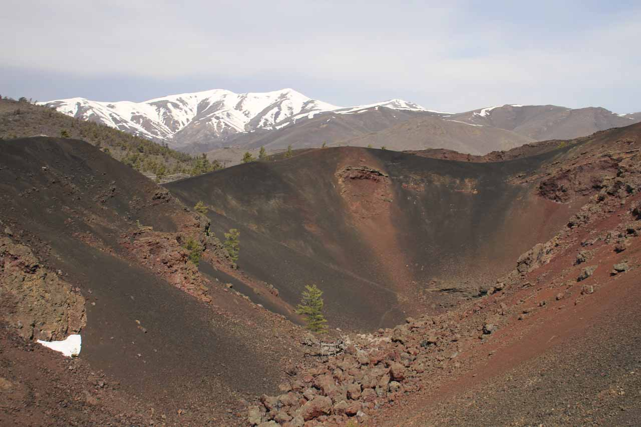 Although it would be a bit of a drive from Jump Creek Falls, Craters of the Moon (roughly 2 hours from Twin Falls, which itself is 2 hours east of Boise) was a worthwhile visit
