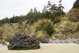 Crescent_Beach_185_04072021 - More contextual look at the Crescent Beach Waterfalls' hidden upper tier