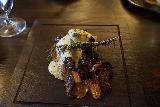 Crested_Butte_046_10162020 - Closer look at elk tenderloin with some foie gras served up at the Elk Avenue Prime Restaurant