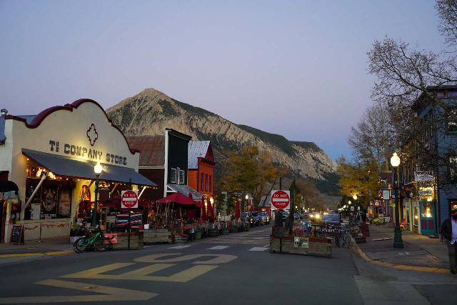 Crested_Butte_053_10162020 - Judd Falls was near the town of Crested Butte, which featured the imposing Mt Crested Butte as well as a charming historical business district
