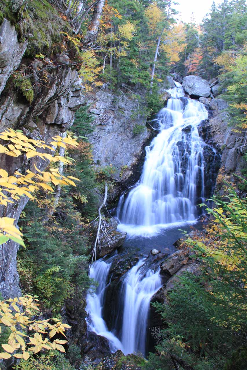 The gorgeous Crystal Cascade in the Crawford Notch