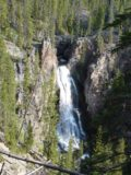 Crystal_Falls_004_jx_06222004 - Another look at the Crystal Falls from the north side of the Yellowstone River during our visit in June 2004