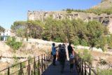 Cuenca_138_06042015 - Walking across the bridge over the gorge where we could get a more level look at the Casas Colgadas de Cuenca
