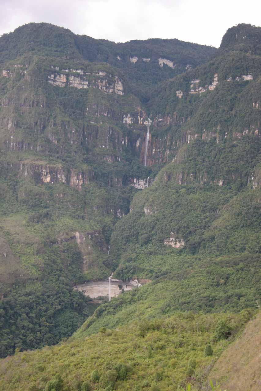 View of Yumbilla Waterfall