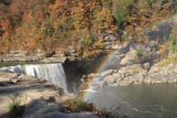 Cumberland_Falls_029_20121021 - Broad rainbow from the base of the Cumberland Falls as seen from near its brink