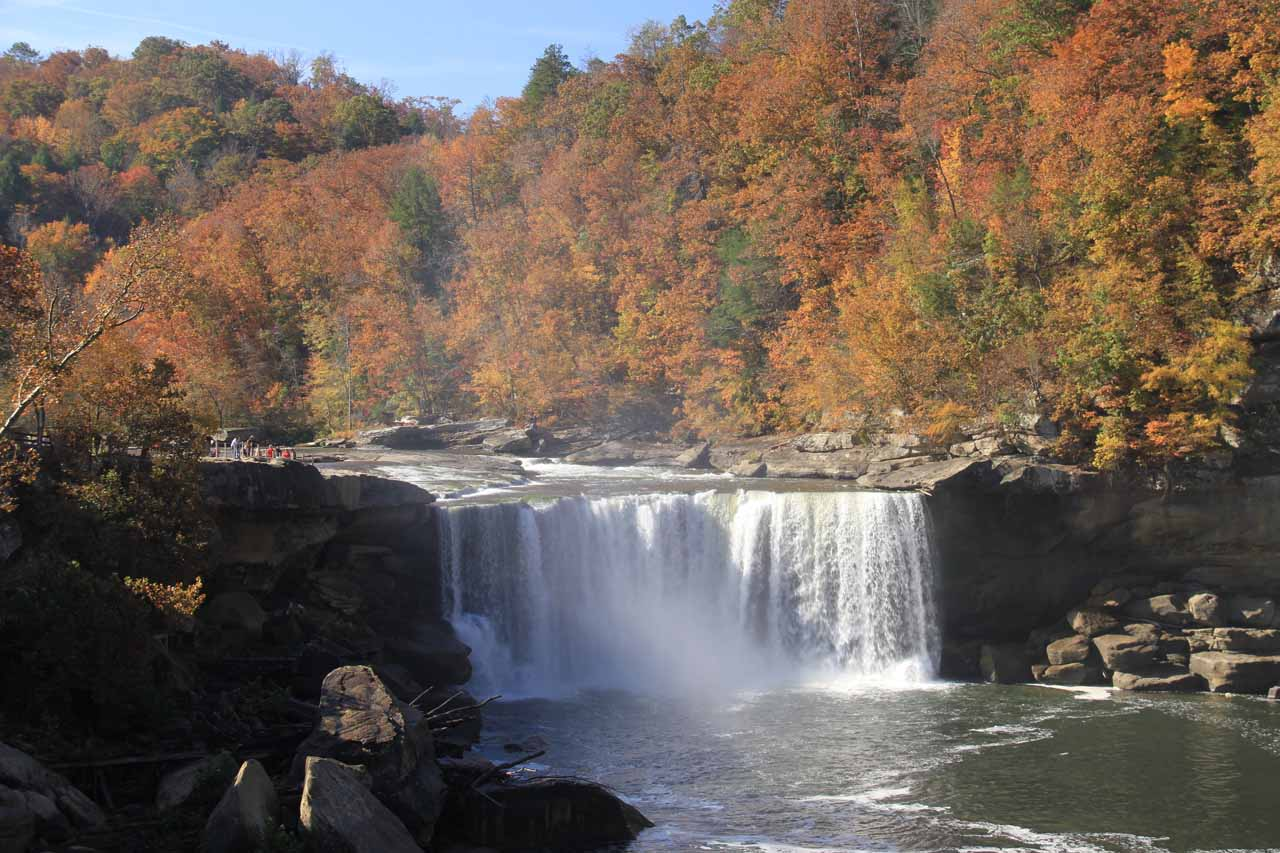 9. CUMBERLAND FALLS [near Corbin, Kentucky]