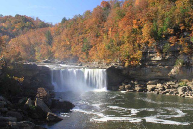 Cumberland_Falls_085_20121021 - Cumberland Falls and the surrounding Autumn foliage
