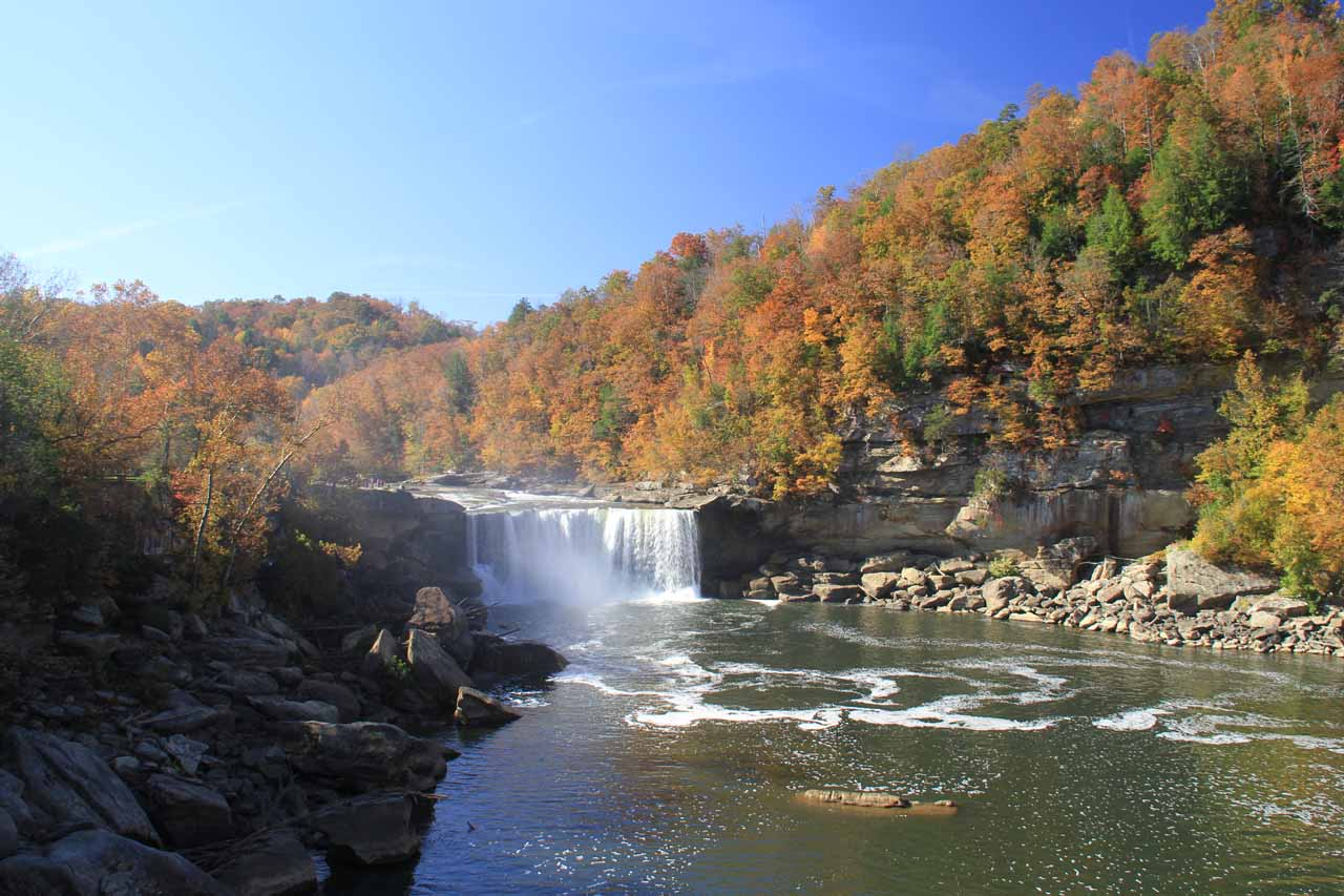 Full context of the Cumberland Falls